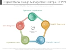 Organizational Design Management Example Of Ppt