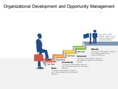 Organizational Development And Opportunity Management Ppt PowerPoint Presentation Ideas Clipart Images PDF