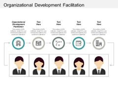 Organizational Development Facilitation Ppt PowerPoint Presentation Icon Master Slide Cpb