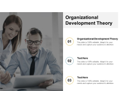 Organizational Development Theory Ppt PowerPoint Presentation Infographic Template Templates Cpb