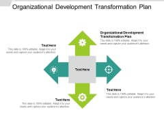 Organizational Development Transformation Plan Ppt PowerPoint Presentationmodel Brochure Cpb