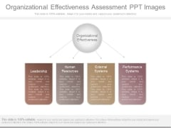 Organizational Effectiveness Assessment Ppt Images