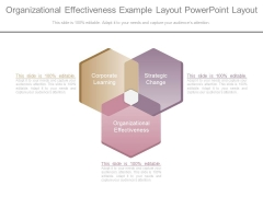 Organizational Effectiveness Example Layout Powerpoint Layout