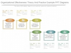 Organizational Effectiveness Theory And Practice Example Ppt Diagrams