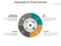 Organizational Goals Examples Ppt PowerPoint Presentation Backgrounds Cpb