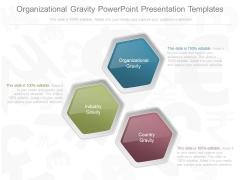 Organizational Gravity Powerpoint Presentation Templates