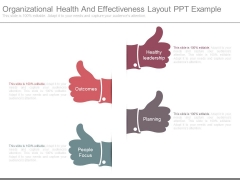 Organizational Health And Effectiveness Layout Ppt Example
