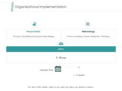 Organizational Implementation Effort Ppt PowerPoint Presentation File Display
