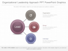 Organizational Leadership Approach Ppt Powerpoint Graphics