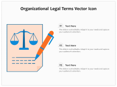 Organizational Legal Terms Vector Icon Ppt PowerPoint Presentation Infographic Template Visual Aids PDF