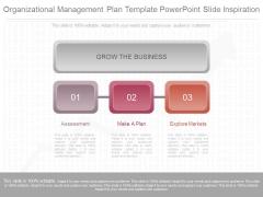 Organizational Management Plan Template Powerpoint Slide Inspiration