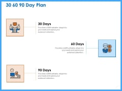 Organizational Performance Marketing 30 60 90 Day Plan Ppt PowerPoint Presentation Styles Outline PDF