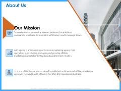 Organizational Performance Marketing About Us Ppt PowerPoint Presentation Portfolio Design Ideas PDF