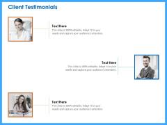 Organizational Performance Marketing Client Testimonials Ppt PowerPoint Presentation Gallery Ideas PDF