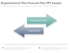Organizational Plan Financial Plan Ppt Sample