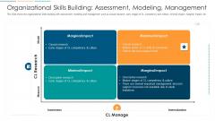 Organizational Skills Building Assessment Modeling Management Ppt Professional Graphics PDF