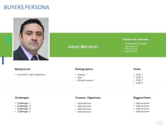 Organizational Socialization Buyers Persona Ppt Model Example Introduction PDF