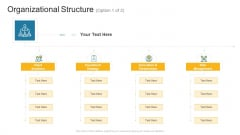 Organizational Structure Client Company Profile Ppt Ideas Icons PDF