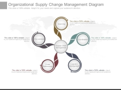 Organizational Supply Change Management Diagram