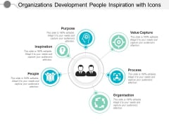 Organizations Development People Inspiration With Icons Ppt PowerPoint Presentation Infographics Tips