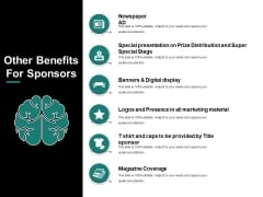 Other Benefits For Sponsors Ppt PowerPoint Presentation Outline Aids