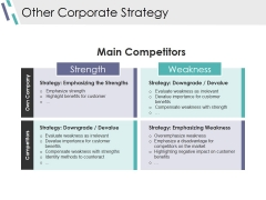 Other Corporate Strategy Ppt PowerPoint Presentation File Format