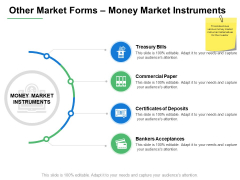 Other Market Forms Money Market Instruments Ppt PowerPoint Presentation Infographic Template Example Topics
