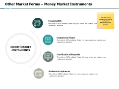 Other Market Forms Money Market Instruments Ppt PowerPoint Presentation Outline Infographic Template