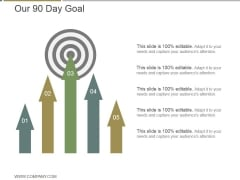 Our 90 Day Goal Ppt PowerPoint Presentation Infographic Template