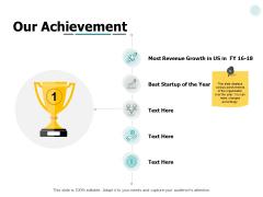 Our Achievement Management Ppt PowerPoint Presentation Portfolio Graphics