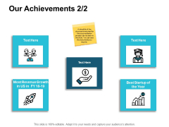 Our Achievements Marketing Ppt PowerPoint Presentation Styles Model