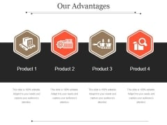 Our Advantages Template 1 Ppt PowerPoint Presentation Tips