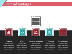 Our Advantages Template 2 Ppt PowerPoint Presentation Infographic Template Outfit