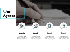 Our Agenda Management Ppt PowerPoint Presentation File Infographic Template