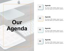 Our Agenda Management Ppt PowerPoint Presentation Ideas Templates