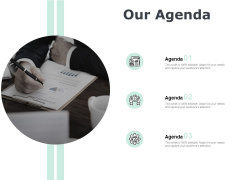 Our Agenda Planning Ppt PowerPoint Presentation Pictures Icon