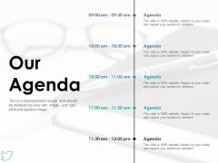Our Agenda Ppt PowerPoint Presentation File Design Templates