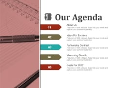 Our Agenda Ppt PowerPoint Presentation Infographics