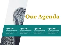 Our Agenda Ppt PowerPoint Presentation Information