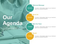 Our Agenda Ppt PowerPoint Presentation Inspiration Templates