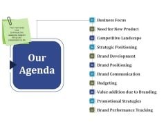Our Agenda Ppt PowerPoint Presentation Pictures Grid