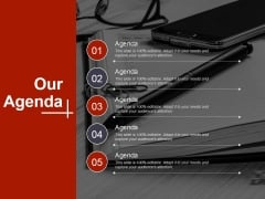 Our Agenda Ppt PowerPoint Presentation Portfolio Layout