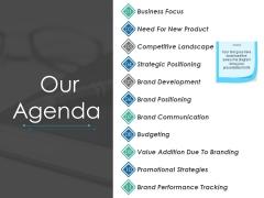 Our Agenda Ppt PowerPoint Presentation Show Slide Download