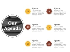 Our Agenda Ppt PowerPoint Presentation Visuals
