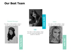Our Best Team Communication Ppt Powerpoint Presentation Styles