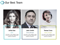 Our Best Team Introduction Ppt PowerPoint Presentation Gallery Brochure