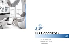 Our Capabilities Ppt PowerPoint Presentation Summary Outline