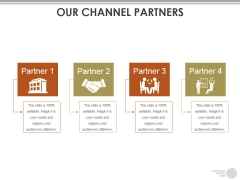 Our Channel Partners Ppt PowerPoint Presentation Inspiration Aids