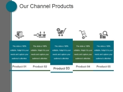 Our Channel Products Ppt PowerPoint Presentation Guide