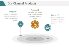 Our Channel Products Template 1 Ppt PowerPoint Presentation Templates